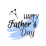 Ευτυχής ψηφιακή αφίσα ημέρας πατέρων ` s Στοκ φωτογραφίες με δικαίωμα ελεύθερης χρήσης