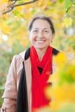 ευτυχής ώριμη γυναίκα Στοκ Φωτογραφία