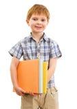 ευτυχής schoolboy Στοκ εικόνα με δικαίωμα ελεύθερης χρήσης