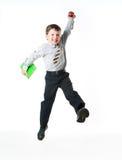 ευτυχής schoolboy Στοκ Φωτογραφίες