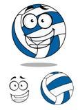 Ευτυχής volley κινούμενων σχεδίων σφαίρα Στοκ Εικόνα