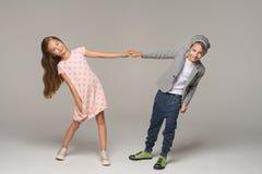 ευτυχή κατσίκια χορού στοκ φωτογραφίες με δικαίωμα ελεύθερης χρήσης