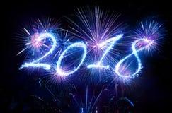 Ευτυχή νέα έτη 2018 Στοκ φωτογραφίες με δικαίωμα ελεύθερης χρήσης