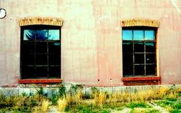 Ευτυχή παράθυρα Στοκ Φωτογραφίες