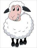 ευτυχή πρόβατα Στοκ φωτογραφία με δικαίωμα ελεύθερης χρήσης
