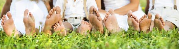 Ευτυχή πόδια Στοκ φωτογραφία με δικαίωμα ελεύθερης χρήσης