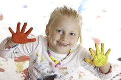 ευτυχή χαμόγελα παιχνιδ&io Στοκ εικόνα με δικαίωμα ελεύθερης χρήσης
