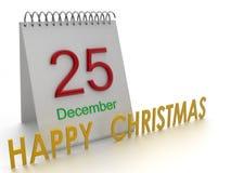 Ευτυχή Χριστούγεννα Στοκ φωτογραφία με δικαίωμα ελεύθερης χρήσης