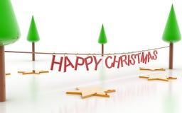 Ευτυχή Χριστούγεννα Στοκ Εικόνες
