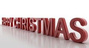 Ευτυχή Χριστούγεννα Στοκ φωτογραφίες με δικαίωμα ελεύθερης χρήσης