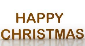 Ευτυχή Χριστούγεννα Στοκ Φωτογραφία