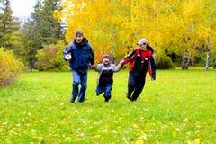 ευτυχή teens Στοκ Φωτογραφία