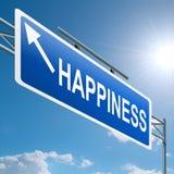 ευτυχία έννοιας διανυσματική απεικόνιση