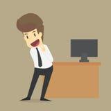 Ευτυχία επιχειρηματιών διάνυσμα ελεύθερη απεικόνιση δικαιώματος