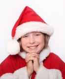 ευτυχία κοριτσιών Χριστ&omic Στοκ εικόνα με δικαίωμα ελεύθερης χρήσης