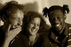 ευτυχία ποικιλομορφίας Στοκ εικόνα με δικαίωμα ελεύθερης χρήσης
