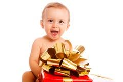 ευτυχία Χριστουγέννων Στοκ Φωτογραφίες
