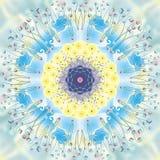 Ευτυχία Mandala στοκ εικόνα με δικαίωμα ελεύθερης χρήσης