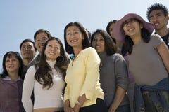 Ευτυχείς άνθρωποι Multiethnic στοκ φωτογραφίες
