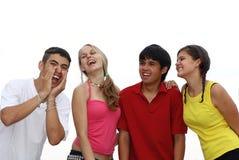 ευτυχείς έφηβοι teens Στοκ Εικόνες