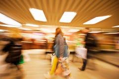 Ευτυχείς αγορές Στοκ Εικόνα