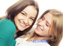 ευτυχείς αδελφές Στοκ Εικόνα