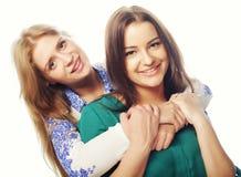 ευτυχείς αδελφές Στοκ Εικόνες