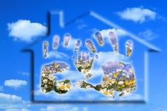 ευτυχείς βασικοί άνθρωπ&o Στοκ εικόνες με δικαίωμα ελεύθερης χρήσης