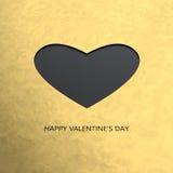 ευτυχείς βαλεντίνοι ημέρας καρτών Στοκ Εικόνες