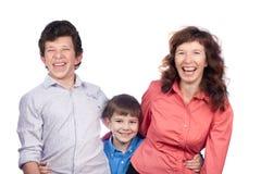 ευτυχείς γιοι δύο μητέρω Στοκ Εικόνα