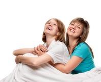 ευτυχείς γυναίκες Στοκ εικόνες με δικαίωμα ελεύθερης χρήσης