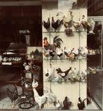 Ευτυχείς διακοσμητικές κότες Πάσχας Στοκ εικόνα με δικαίωμα ελεύθερης χρήσης