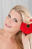 ευτυχείς κόκκινες νεο&l Στοκ Εικόνες