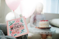 ευτυχείς μητέρες ημέρας Στοκ Φωτογραφία