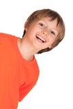 ευτυχείς νεολαίες αγοριών Στοκ εικόνες με δικαίωμα ελεύθερης χρήσης