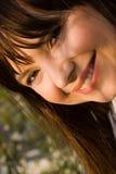 ευτυχείς νεολαίες γυναικών στοκ φωτογραφίες