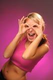 ευτυχείς νεολαίες γυναικών στοκ εικόνα με δικαίωμα ελεύθερης χρήσης