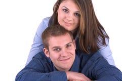 ευτυχείς νεολαίες ζευγών στοκ φωτογραφίες