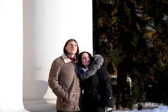 ευτυχείς νεολαίες ζε&up Στοκ Εικόνες