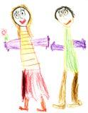 ευτυχείς νεολαίες ζε&up Διανυσματική απεικόνιση