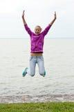 ευτυχείς νεολαίες κο&r Στοκ Εικόνα