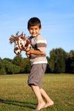 ευτυχείς νεολαίες παι& Στοκ Φωτογραφίες
