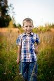 ευτυχείς νεολαίες αγ&omi Στοκ φωτογραφίες με δικαίωμα ελεύθερης χρήσης