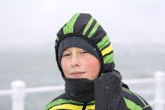 ευτυχείς νεολαίες αγ&omi Στοκ Φωτογραφίες