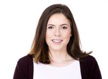 ευτυχείς νεολαίες brunette Στοκ φωτογραφίες με δικαίωμα ελεύθερης χρήσης