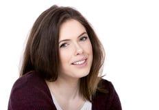 ευτυχείς νεολαίες brunette Στοκ εικόνες με δικαίωμα ελεύθερης χρήσης