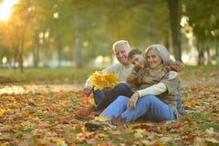 Ευτυχείς παππούδες και γιαγιάδες με τον εγγονό Στοκ εικόνες με δικαίωμα ελεύθερης χρήσης