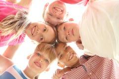 Ευτυχών παιδιών Στοκ Εικόνα