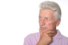 Ευφυές ηλικιωμένο άτομο στοκ φωτογραφίες με δικαίωμα ελεύθερης χρήσης