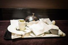 ευχάριστη υπηρεσία δωματίων εστιατορίων όρεξης στοκ εικόνες με δικαίωμα ελεύθερης χρήσης